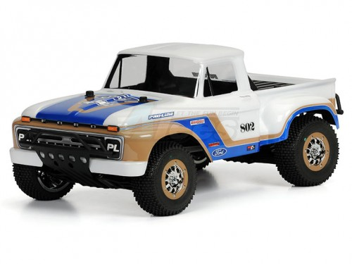 Traxxas Slash 4X4 1966 Ford F-100 Clear Body