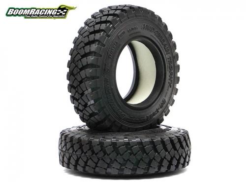 boom racing 1 9 mud terrain trophy br t29a tire gekko compound inch 93x24mm 2 brtr19393. Black Bedroom Furniture Sets. Home Design Ideas