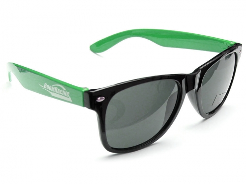 boom racing limited badass sun glasses green sg001