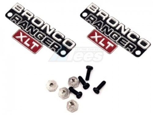 Traxxas TRX-4 TRX4 Bronco Body Side Logo