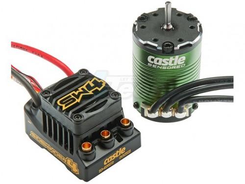 Castle Creations Sidewinder 4 Sensorless ESC On Road Edition W/1406-6900  Sensor Ready Motor