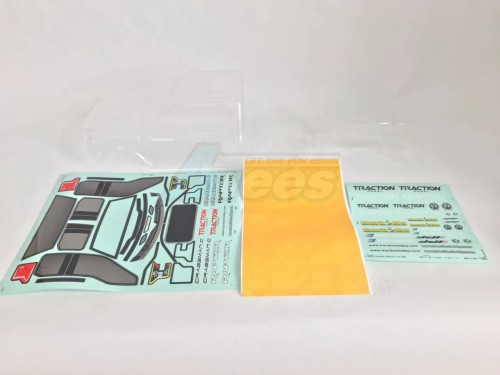 Cragsman F150 1/8 Clear Lexan Body for Cragsman & Founder II