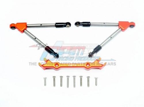 GPM TRAXXAS-1/10 RUSTLER 4X4 VXL-67076-4 Spring Steel TIE Rod+25T ...