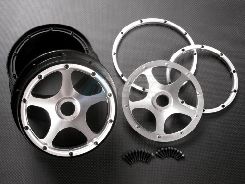 Front Baja Ss5t Rtr5b 5b Rims With Gpm Hpi Frame Racing Nylon XiTkOPZu
