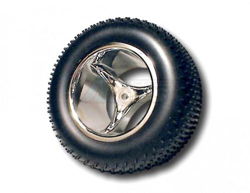 Team Losi XXX-T Losi Xxtxxx-t & Nx-t Front Talonz 3 Spoke Wheels chrome  ~tires not included~