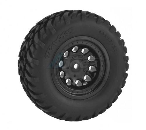 Traxxas Slash Revolver Wheels Trx  Slash (2wd R4x4 F/r)blitz F/r - Bk   ~tires not included~