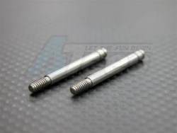 GPM Racing Miscellaneous All Steel Shaft 3.17mm X 32mm - 1pr