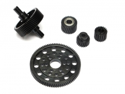 '' 'SCX10' 'Heavy Steel Helical Pineapple Gear Set For Axial SCX10 [RECON G6 The Fix Certified] '