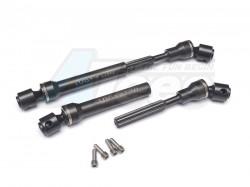 '' 'SCX10' 'Steel Main Shaft - 1Pair Black'