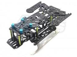 MiscellaneousAllTransformation 300 All Carbon Fiber Foldable Quadcopter Aircraft Frame