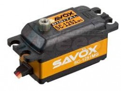MiscellaneousAllSavox SC-1251MG Low Profile High Speed Metal Gear Digital Servo