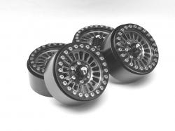 MiscellaneousAllVenomous KRAIT™ 1.9 Aluminum Beadlock Wheels with +8mm Wideners (4) Gun Metal