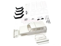 AxialSCX10Cherokee XJ Hard Plastic Body Kit Set 313mm w/ Rubber Fenders