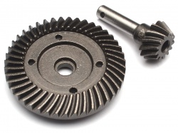 '' 'Yeti' 'Heavy Duty Bevel Helical Gear Set 43T/13T Underdrive For All 1/10 Axial Trucks'