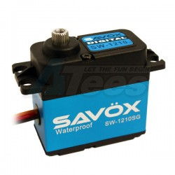 MiscellaneousAllSavox SW-1210SG Waterproof Aluminum Case Coreless Digital Steel Gear Servo 0.13/23kg