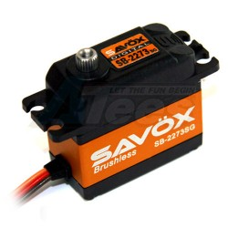 MiscellaneousAllSavox SB-2273SG High Torque Brushless Steel Gear Digital Servo 0.095/388.8 @7.4