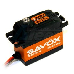 MiscellaneousAllSavox SB-2274SG High Speed Brushless Steel Gear Digital Servo 0.080/347.2@7.4