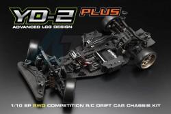 '' 'Yokomo DP-YD2' 'YD-2 Plus DRIFT PACKAGE w/ Carbon/Aluminium Upgrade'