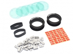 '' 'All' 'KRAIT™ Adjustable Weighted 1.9 Beadlock Wheel Ring (2) Black'