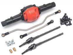 '' 'SCX10' 'XRMod PHAT™ Axle w/ Stainless Steel Steering Links & Universals Black'
