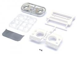 '' 'All' 'Kahn Defender Front Grille and Light Assembly Set for D90/D110'
