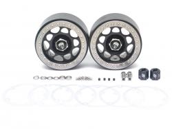 MiscellaneousAllSandstorm KRAIT™ 2.2 Aluminum Beadlock Wheels With 8mm Wideners (2) Black