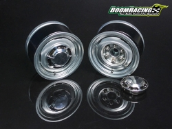 MiscellaneousAll1.55 Yota LC Classic Rear Beadlock Wheels (2) with 3mm Wideners (2) Gun Metal