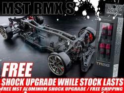'' 'RMX S' 'RMX S 1/10 High Performance RWD Drift Car Kit and Free MST Aluminum Shock Upgrade'