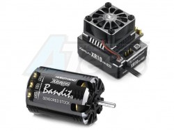 MiscellaneousAllXERUN XR10 PRO ESC Black with Bandit 13.5T-BLACK-G2 Motor Combo