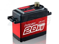 MiscellaneousAllMetal Gear Digital High Torque Servo 20Kg/ 0.16 Sec @6.V for 1/10 Crawler & Buggy