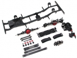 MiscellaneousAll1/10 D110 Metal Chassis Kit (Without Shocks Wheels Tires) for Defender D110 (non-opening door body)