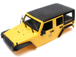 MiscellaneousAll5 Door Rubicon Hard Body for 1/10 Crawler 313mm Yellow