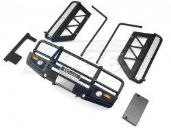 '' 'All' 'LC70 - Front Bumper + Side Bar + Side Sliders (Black)'