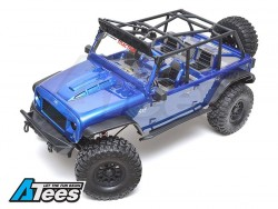 Traction HobbyCragsman1/8 RTR Crawler (Rubicon Clear Body)