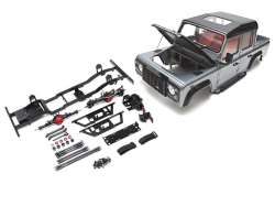 MiscellaneousAll1/10 D110 Chassis Kit (Without Wheels Tires Shocks) w/ TRC Raffee Defender D110 Pickup Hard Body