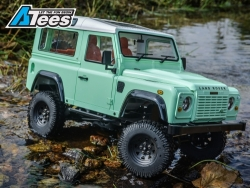 MiscellaneousAll1/10 D90 Chassis Kit (Without Wheels Tires Shocks) w/ TRC Raffee Defender D90 2-Door Hard Body
