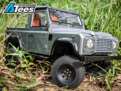 MiscellaneousAll1/10 D90 Chassis Kit (Without Wheels Tires Shocks) w/ TRC Raffee Defender D90 Pickup Hard Body