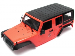 MiscellaneousAll5 Door Rubicon Hard Body for 1/10 Crawler 313mm Kit Version Red