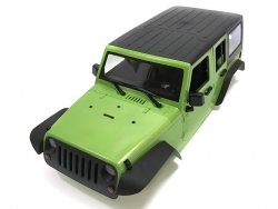 '' 'All' '5 Door Rubicon Hard Body for 1/10 Crawler 313mm Kit Version Green'