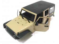 '' 'All' '5 Door Rubicon Hard Body for 1/10 Crawler 313mm Kit Version Desert Yellow'
