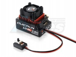 MiscellaneousAllQuicRun Brushless 120A Sensored ESC 10BL120 For 1/10 RC