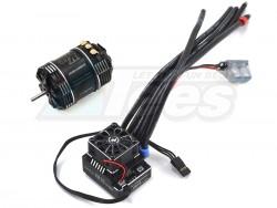 MiscellaneousAllXeRun XR10 PRO ESC Black w/ V10-13.5T-Black-G3 3710KV Brushless Motor Combo