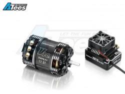 MiscellaneousAllXeRun XR10 PRO ESC Black w/ V10-6.5T-Black-G3 5120KV Brushless Motor Combo