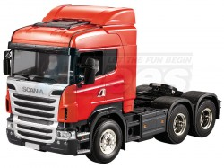 '' 'All' '1/14 Scania R620 6X4 Highline Tractor Truck Kit'
