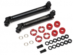 '' 'SCX10 II' 'BADASS™ HD Steel Center Drive Shaft Set for Axial SCX10 II Kit Front & Rear (2) [Recon G6 Certified]'