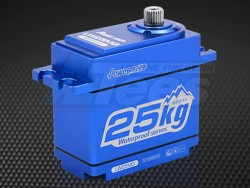 MiscellaneousAllWaterproof & Full Metal Case Digital Servo 25Kg/0.14Sec @7.4V for 1/10 Crawler & Buggy