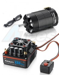 MiscellaneousAllXeRun 1/8 Combo XR8-Plus-Black 1900KV 4268SD-Sensored-G2-Black Motor