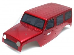 RGT1/10 Rock Cruise EX861001/10 Rubicon PVC Body (Red)