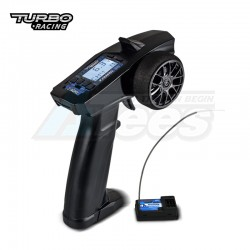 MiscellaneousAllP32 91803G-C 2.4G 4CH LCD Display Radio Transmitter Remote w/ Receiver for RC Cars