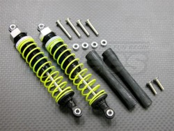 GPM Racing Team Associated RC10GT2 105MM Aluminum Adjustable Shocks 1PR for Competition Blue (Silver Springs)